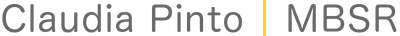 Claudia Pinto MBSR Logo